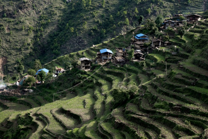 The village of Gumba is located in the Sindhulpalchok district of Nepal. (Pong Suracheth)