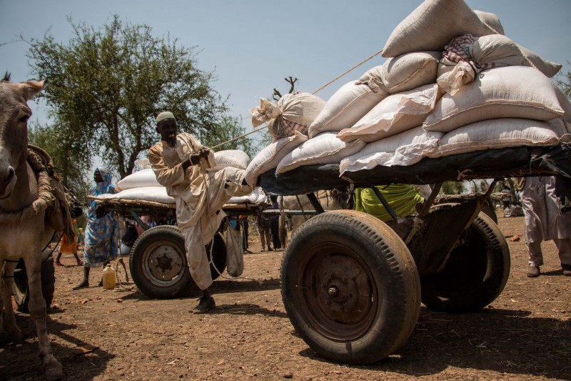 The food rations cuts in 2015 are escalating tensions and forcing an increasing number of refugees to return to conflict-riven Blue Nile in search of sources of food and income. (Ashley Hamer)