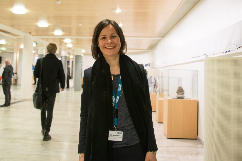 Elle Merete Omma was elected as the executive secretary for the Indigenous Peoples' Secretariat in 2014. (Flickr/Arctic Council (CC BY-NC-ND 2.0))