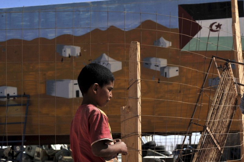 Eid-Al-Fitr, despite the festivities, is a sobering occasion for the Sahrawi refugees and a reminder that they are away from their home. (AP/Toufik Doudou).