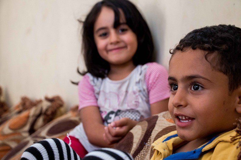 """In March 2016, the United Nations Children's Fund reported that thousands of Yemeni children are """"dying from direct and indirect causes of the brutal war."""" These children are amongst those who fled to Somaliland and are now living in Hargeisa. (Ashley Hamer)"""
