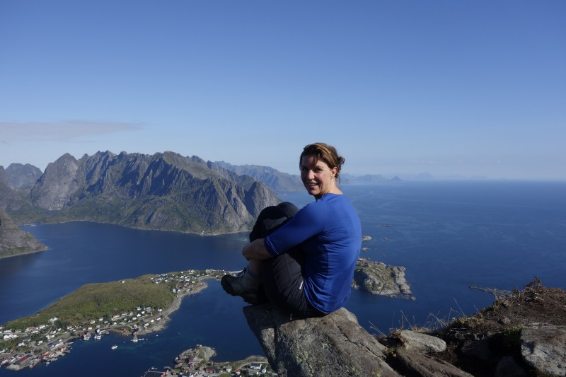 Karianne Steen, Chair of Lofoten's Outdoor Recreation Council, argues that it is time to take the challenge to a new level. And she has the support from, among others, Nordland County Council. (Karianne Steen)