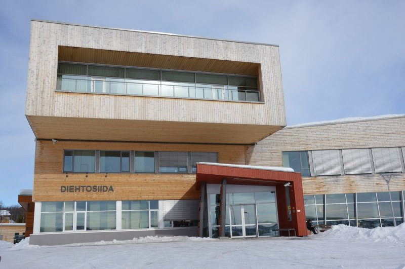 The Saami University of Applied Sciences in Kautokeino, Norway, preserves and promotes the Sámi language, traditions, occupations, skills and knowledge (CC BY-SA 3.0). (Wikimedia/Illustratedjc)
