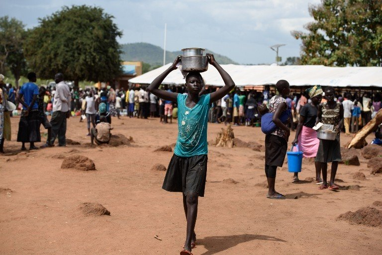 Since the escalation of violence in South Sudan in July, around 1,500 unaccompanied South Sudanese children have arrived at the refugee camps in northern Uganda. (Jennifer Huxta)