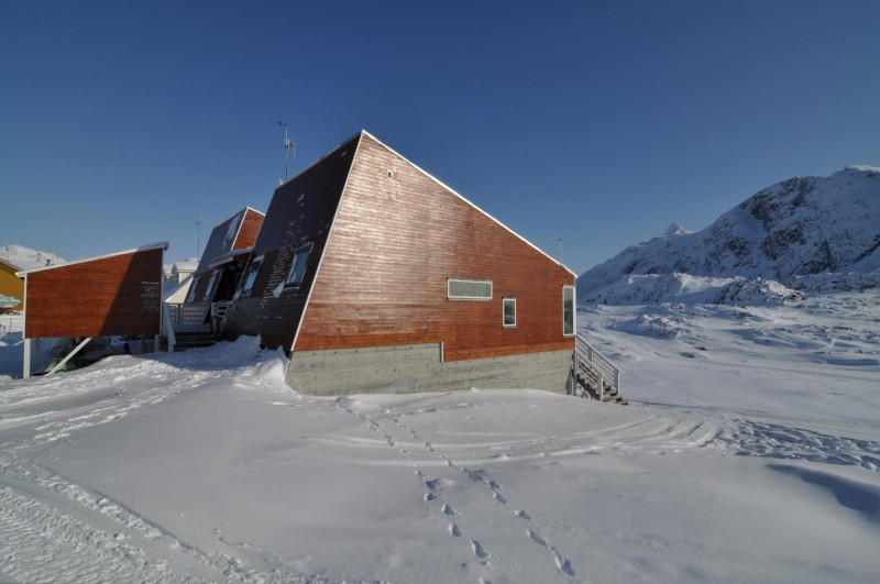 This low energy house was built to see how low energy technologies might fare in the Arctic. (Flickr, CC BY-NC-ND 2.0/destination arctic circle)