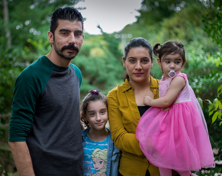 Salman Taha and his family moved to St. Louis from Iraqi Kurdistan two years ago. They arrived through the Special Immigration Visa program for Iraqi and Afghan nationals working locally with American forces. Only 5,500 out of the promised 25,000 such nationals have been resettled to date. (Nathan Parker)