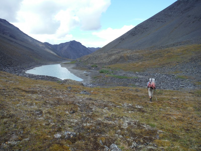 Hiking in Gates of the Arctic National Park. (Margaret Williams)