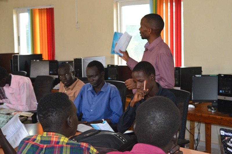The CPA students in Kakuma refugee camp, June 2016. (Courtesy of Strathmore University/iLab Africa)