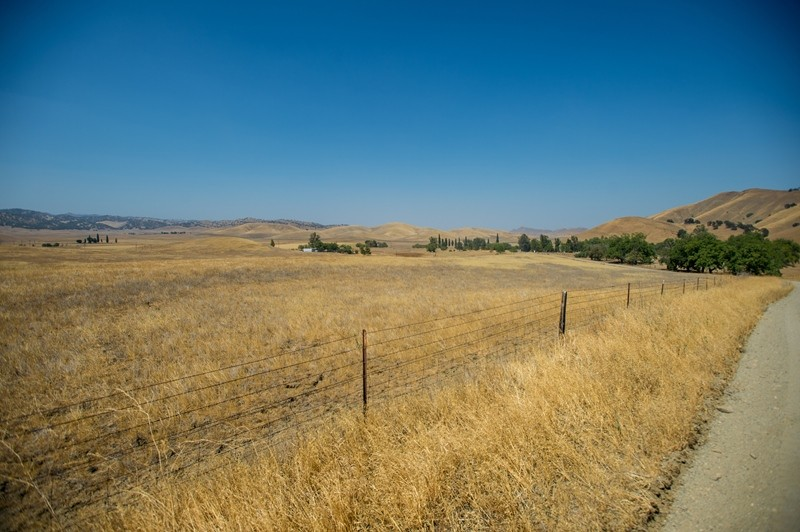 A view of the proposed Sites Reservoir near Maxwell, Calif. (Kelly M. Grow/ California Department of Water Resources)