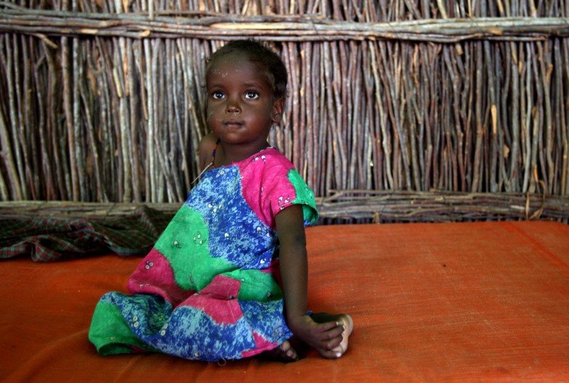 In nearly half the countries surveyed, the majority of girls undergo FGM before the age of five. (AP/Stephen Morrison)
