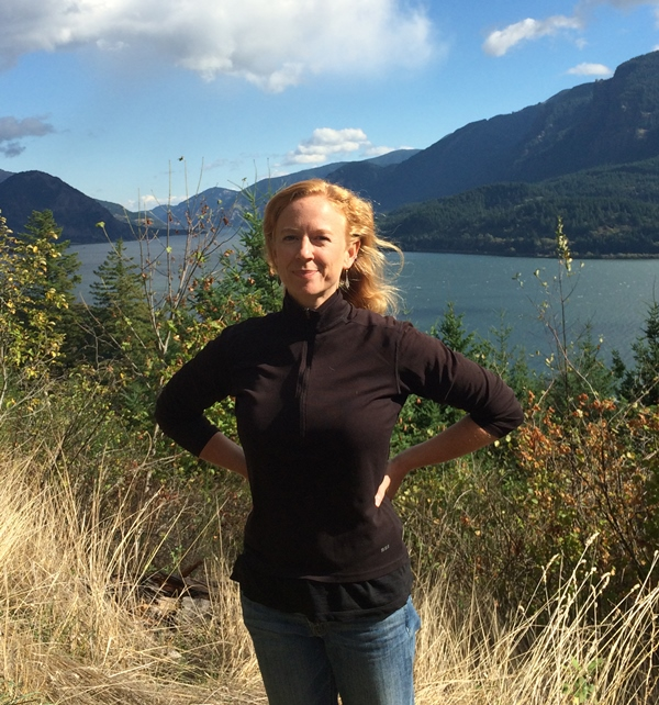 """""""I love the outdoors, I grew up hiking and being free, and that is something I wanted to share with Afghan girls,"""" says Ascend founder Marina LeGree. (Jenya Kielpinski)"""