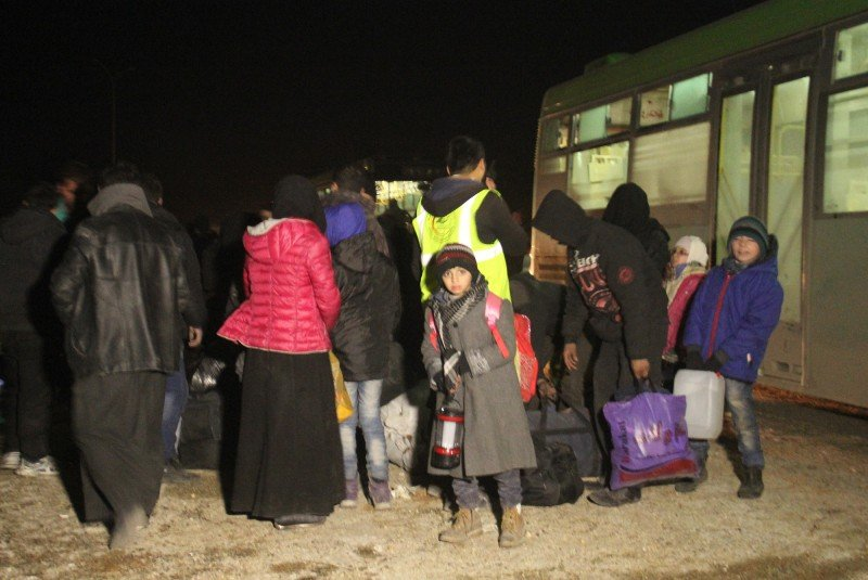 """""""Priority must be given to help women and children in need in Aleppo, with provisions for trauma processing, social and mental healthcare, education and protection facilities,"""" writes the author. (AFP/Omar haj kadour)"""